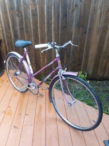 Vintage Vindec 3-speed bike.