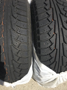 BRAND NEW! Nokian Nordman Snow Tires with Rims