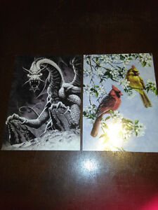 "Tree-free Gretting cards 5"" x7"""