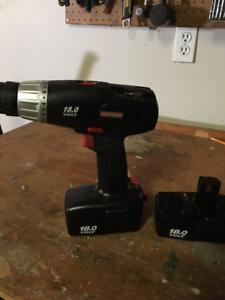Craftsman 18V Drill