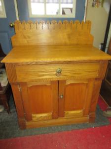 Versatile Antique (c1890) Stand -Refinished