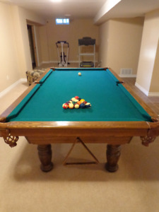 Dufferin Games Pool Table- Great addition to man cave
