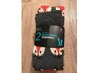 Ladies knee high thermal socks brand new