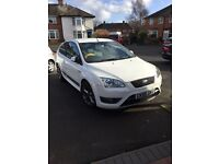 FORD FOCUS ST2 RARE DIAMOND WHITE ..HPI CLEAR ....VIEWINGS WELCOME MAY PX