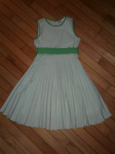 Girls Easter dress and shoes
