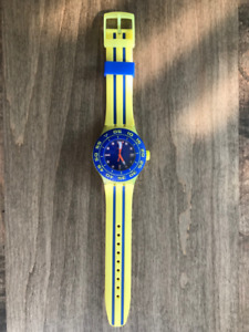Swatch - Playero Blue and Yellow