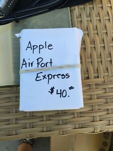 Apple Air Port Express. Wi-if
