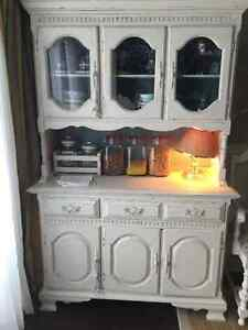 Solid wood old hutch London Ontario image 6