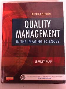 Quality management...imaging sciences (5th/latest ed.) NAIT MRT
