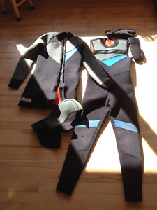Scuba diving wet suit