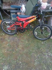 universal full suspension kids bike