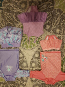3 swimsuits for sale - EUC - size 12 months
