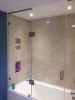 Washroom Renovation Tiling Backsplash