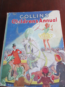 Vintage Collins Children's Annual - Great stories and pics