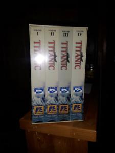 Documentaire VHS NEUF sur le Titanic