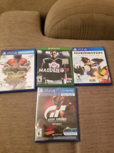 Selling PS4 and Xbox Games