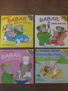Four Babar Books