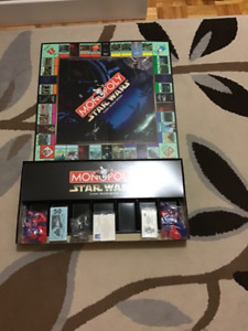 Parker Brothers Star Wars Monopoly
