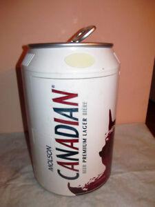 Molson Canadian Can-shaped Portable Fridge