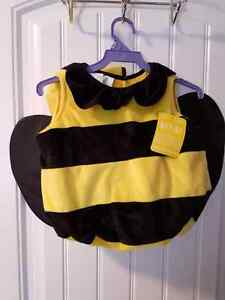 Bumblebee costume  ( 6-18mths)  & Strawberry shortcake costume