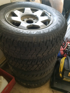 Chevy or GMC truck snow tires and wheels 17""