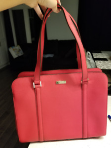 Kate Spade - Saffiano Red Leather Purse (Large Size)