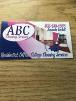 ABC cleaning  now taking new clients