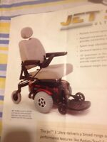 Electric wheelchair and electric scooter