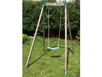 """TP"" 'Forest' single wooden swing, for ages 3 to 8."