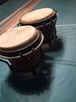Bongo drums for TAM TAMS