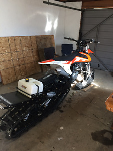 2016 TIMBERSLED ST 120 WITH TSS SHOCK