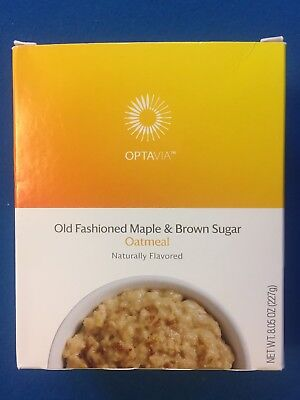 Medifast Optavia Old Fashioned Maple   Brown Sugar Oatmeal 7 Meals   Free Ship