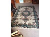 Pure wool Turkish rug