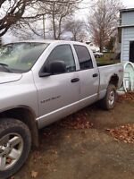 2003 dodge ram 1500 4x4 with 5.7l hemi trade for atv/dirtbike