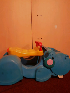 Fisher Price Hippo Toy Car
