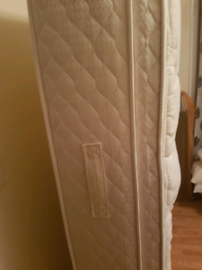Single Sealy Matress with Frame and Headboard