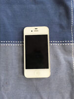 White Iphone 4 in Mint condition