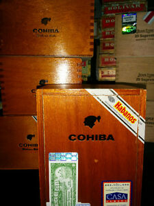 Over 30+ Empty Cuba Cedar Wood Cigar Boxes