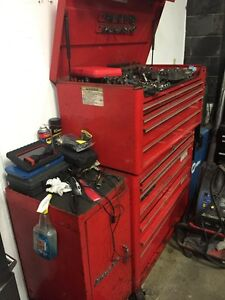 Big snap on tool case without tools Snap-On Tool Mac box storage