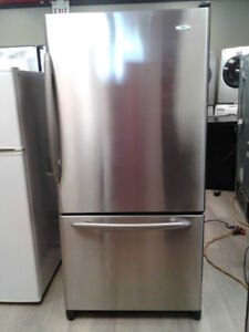 """fridge  Maytag 32"""" french door stainless s."""