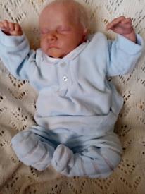 SOLD Stunning Reborn baby boy or girl, wears newborn size
