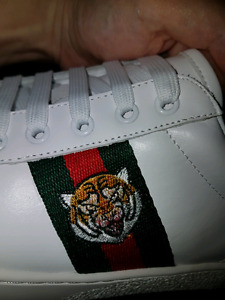 Gucci Ace embroidered sneakers for men sz:44