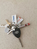 Toyota Key found