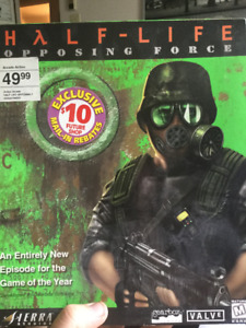 Half-Life Opposing Force PC video game (UNOPENED)