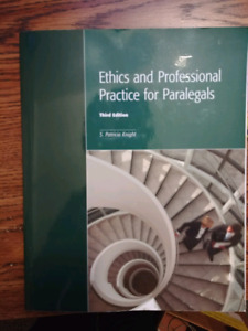 Ethics and Profesional Practice for Paralegals Third Edition