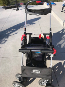 Jeep snap and go stroller