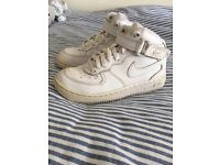 Nike Air Force 1 size 11 trainers Childrens