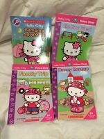 4 hello Kitty books