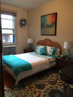 $550 - FURNISHED ROOM FOR RENT IN NDG / CHAMBRE À LOUER MEUBLÉE