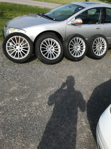 Chrysler 300M rims and tires